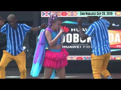 HuaweiJoburgDay Sho Madjozi Throw Back Video Download