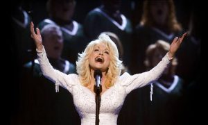 Dolly Parton hello God
