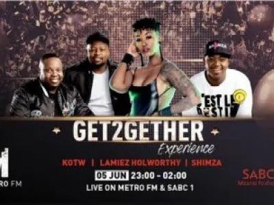 Shimza Metro FM & SABC 1 Get2GetherExperience