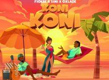 Fiokee Koni Koni Music Free Mp3 Download Audio Song feat Simi & Oxlade