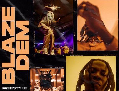 Stonebwoy Blaze Dem Freestyle Video Download