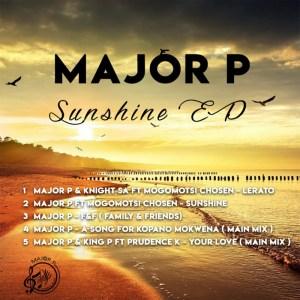 Major P Sunshine Full Ep Zip File Download