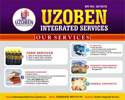 UZOBEN Integrated Services