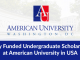 Scholarship At American University Washington DC USA