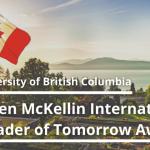 University of British Columbia Canada Scholarship