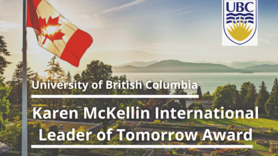 University of British Columbia Canada Scholarship