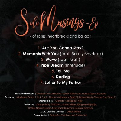 Onyinye Solo Musings Ep Tracklist