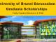 University of Brunei Darussalam Graduate Scholarship International Students