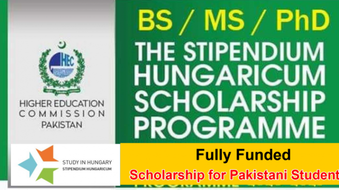 Fully Funded Scholarships for Pakistani Students 2021